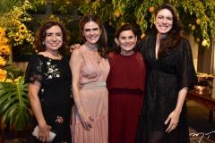Conceição Coelho, Niedja, Graça e Lissa Bezerra