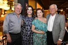 Euvaldo Bringel, Eliane Brasil, Inês e Flávio Saboia