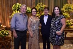 Euvaldo Bringel, Nadja e Jorge Parente e Eliane Brasil