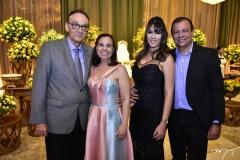 Fernando Cunha, Joselha Dantas, Escarlat Vasconcelos e  Jocelino Dantas
