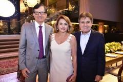 Helio e Veronica Perdigão e Jorge Parente