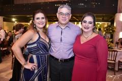 Ira Frota, Richard e Simone Ramos