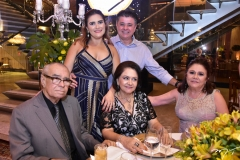 Ira e Alexandre Frota, Helmar e Barbara Frota e Célia Frota
