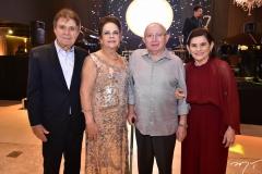 Jorge e Nadja Parente, Roberto Claudio e Graça Bezerra