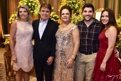 Milene Bezerra, Jorge e Nadja Parente, Daniel e Andreza Bezerra