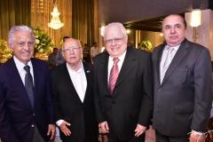 Oto de Sá Cavalcante, Luiz Gonzaga Fonseca, Ubiratan Aguiar e Firmo de Castro