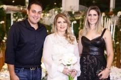 Bruno Bastos, Morgana Dias Branco e Rebeca Bastos