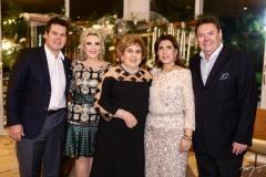 Cláudio Dias Branco, Graça da Escóssia, Consuelo Dias Branco, Regina Ximenes e Ivens Dias Branco Jr.