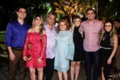 Cleber Alves, Roberta, Roberto, Nekita, Nekita Romcy, Bruno Montenegro e Júlia Romcy