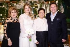 Consuelo, Morgana Dias Branco, Ruth Saraiva e Ivens Dias Branco Jr.
