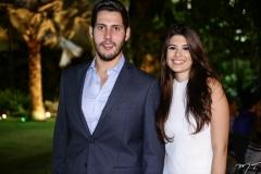 Gabriel Ximenes e Sabrina Aguiar