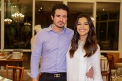 Ivens Dias Branco Neto e Mariana Rios