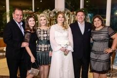 Jório, Gabriela e Graça da Escóssia, Morgana, Ivens Jr. e Gisela Dias Branco
