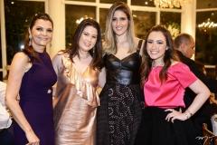 Liliana Farias, Marcela Dias Branco, Rebeca Leal e Lissa Dias Branco