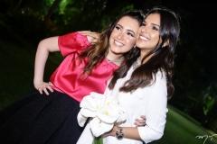 Lissa Dias Branco e Mariana Rios