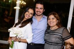 Mariana Rios, Ivens Neto e Gisela Dias Branco
