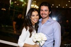 Mariana Rios e Ivens Dias Branco Neto