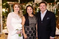 Morgana Dias Branco, Cristiane Melo e Ivens Dias Branco Jr.