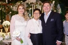 Morgana Dias Branco, Ruth Saraiva e Ivens Dias Branco Jr.