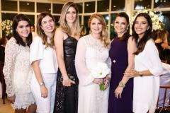 Priscila Leal, Edinice Cruz, Rebeca Leal, Morgana Dias Branco, Liliana Farias e Mariana Rios
