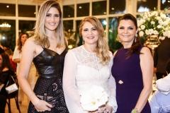 Rebeca Leal, Morgana Dias Branco e Liliana Farias