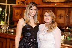 Rebeca Leal e Morgana Dias Branco