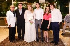 Tarquilio Pimentel, Ivens Jr., Morgana, Luca, Lissa e Luciano Dias Branco