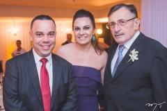 Arthur Lobo, Ana Lúcia Lobo e Wagner Barreira