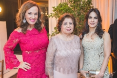 Cláudia Carvalho, Edyr e Sandra Rolim