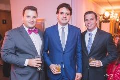 Gil Banral, Felipe Esteves e André Rolim