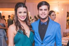 Mariana Araújo e João Vitor Luna