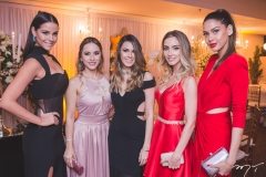 Mariana Vasconcelos, Clarissa Peixoto, Carine Figueiredo, Érica Frota e Mirele Vasconcelos