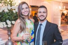 Mariana de Mendonça e Osmir Júnior