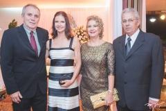 Nilton Bastos, Cristine Bastos, Márcia Martin e Marcelo Sanford