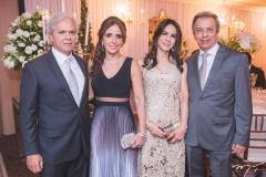 Ricardo, Denise, Sandra e Eduardo Rolim