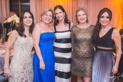 Sandra Rolim, Stela Rolim, Cristiane Basto, Márcia Martin e Denise Rolim