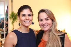 Beatriz Miranda e Rivana Santos