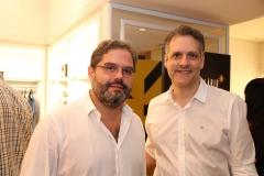 Edson Queiroz Neto e Alexandre Sobreira