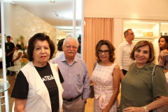 Edyr Rolim, Nilo e Helena Carvalho, Marise Rolim