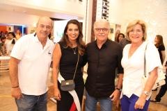 Fernando e Márcia Travessoni com Pio e Stela Rodrigues
