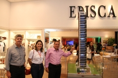 Gustavo Carvalho, Viviane Avelino e Francisco Pinto