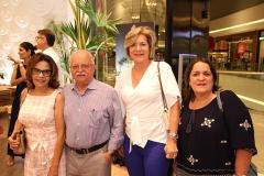 Helena e Nilo Carvalho, Stela Rodrigues e Cristiane Holanda