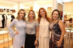 Janaina Gradvhol, Isabela e Ticiana Rolim e Priscila Veras