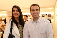 Laure Oliveira e Paulo Junior