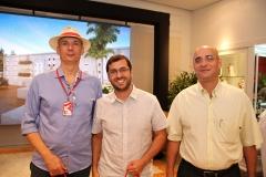 Mizael Ramos, Victor Bruno e Alexandre Vieira