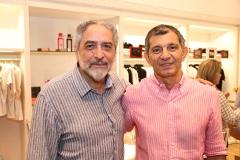 Osvaldo Souza e Francisco Hissa
