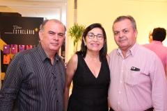 Pedro Paulo, Lucia Magalhães e César Luciano (1)