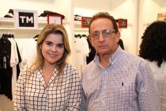 Rachel Furtado e Flávio Pinto