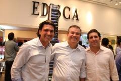 Rômulo Santos, Ricardo Bezerra e Jonatas Costa