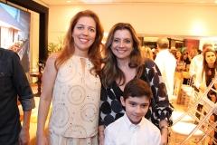 Ticiana Rolim, Emilia e André Buarque